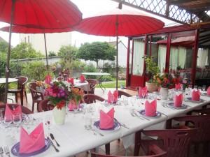 terrasse banquet