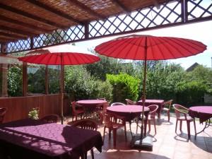 terrasse parasol